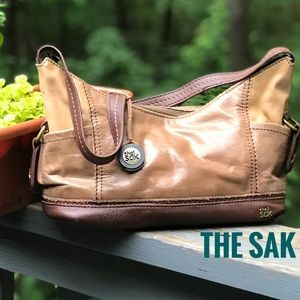 THE SAK BROWN BEIGE BAG